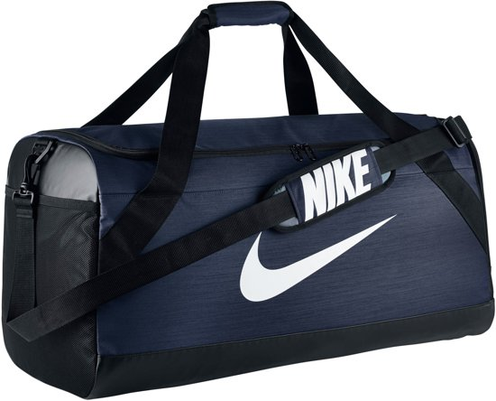 Nike Brasilia Medium Sporttas - Navy