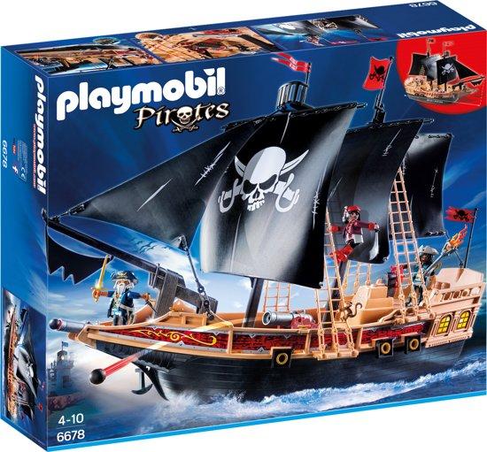 PLAYMOBIL Piratenschip - Aanvalsschip - 6678