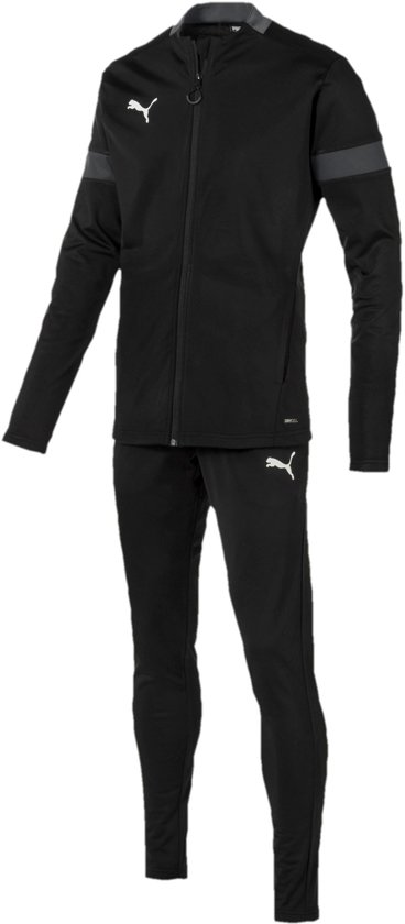 PUMA ftblPLAY Trainingspak Heren - Puma Black-Asphalt - Maat XL
