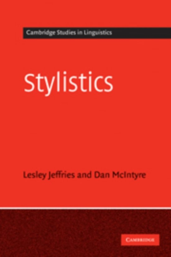 history and development of stylistics