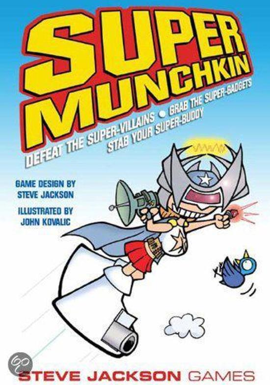 Thumbnail van een extra afbeelding van het spel Super Munchkin Expansion 2 - The Narrow S Cape