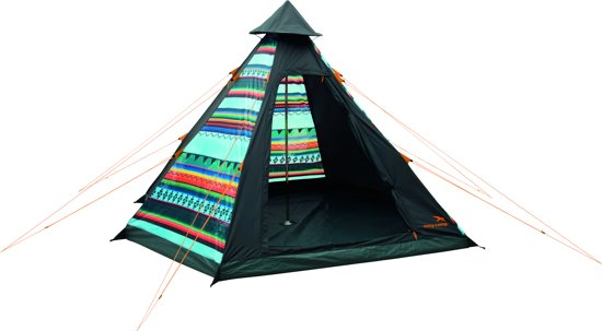 Easy Camp Tribal - Tipitent - 4-Persoons - Multi