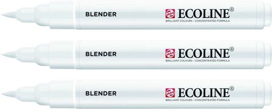 3x Ecoline Brush Pen blender