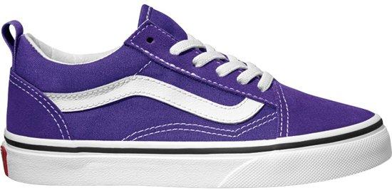 369da65751 Vans Old Skool Elastic Lace Sneakers Kinderen - Heliotrope True White