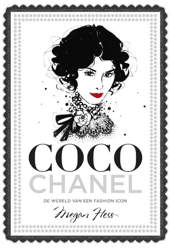 Boek cover Coco Chanel van Megan Hess (Hardcover)