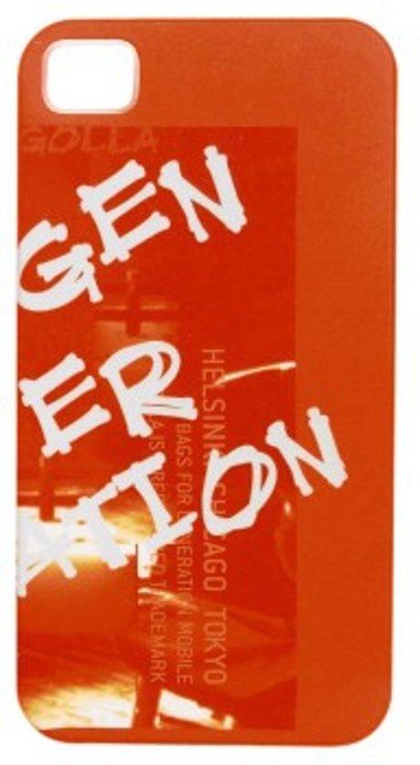 Golla Jem G1342 Cover  voor de iPhone 4/4S - Oranje