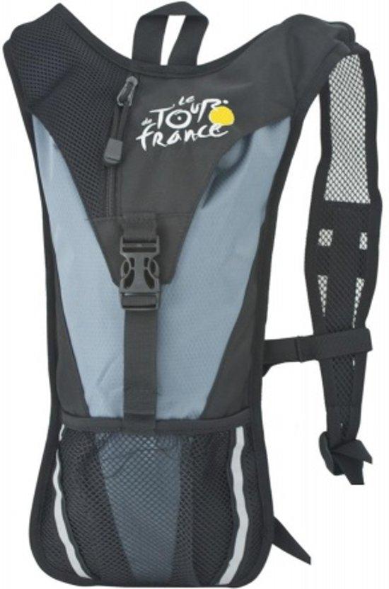 Tour de France - Rugzak - Inclusief Watersysteem - Zwart - Zonder Slang en Waterzak