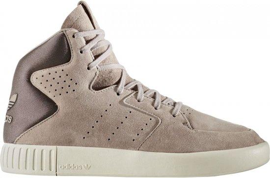 b24e049b942 bol.com | Adidas Sneakers Tubular Invader 2.0 Dames Lichtbruin Mt 39 1/3