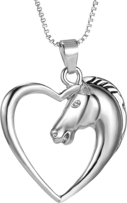 Kinderketting - Ketting - Paard - Paardenhoofd - Hart