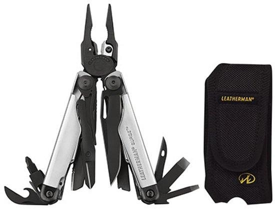 Leatherman Surge Limited Edition Zakmes - Multitool - Zwart / Zilver