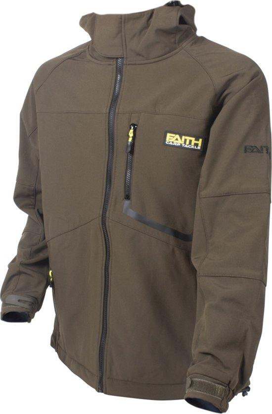 Faith Softshell Jacket - Olive - Maat M - Groen