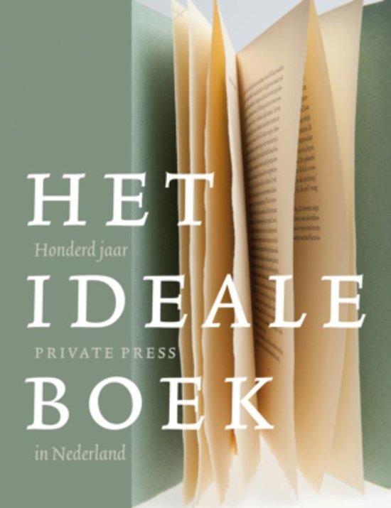 Boek cover Het ideale boek van Museum van Het Boek/Museum Meerm (Hardcover)