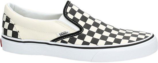 Vans Checkerboard Classic Slip On Sneaker Black