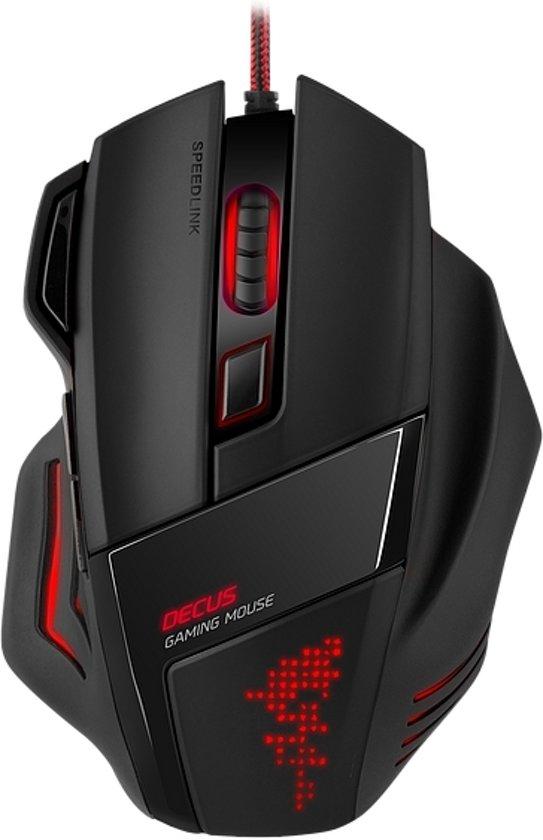 bol.com | Speedlink DECUS - Laser Gaming Muis - Zwart - PC ...