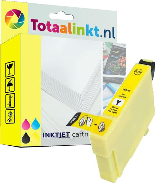 Bolcom Epson Stylus Photo R220 Inkt Cartridge Geel Huismerk