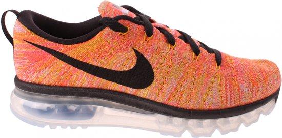 hot sale online a35fe 2cd24 Nike Sneakers Flyknit Max Dames Oranje Maat 36,5
