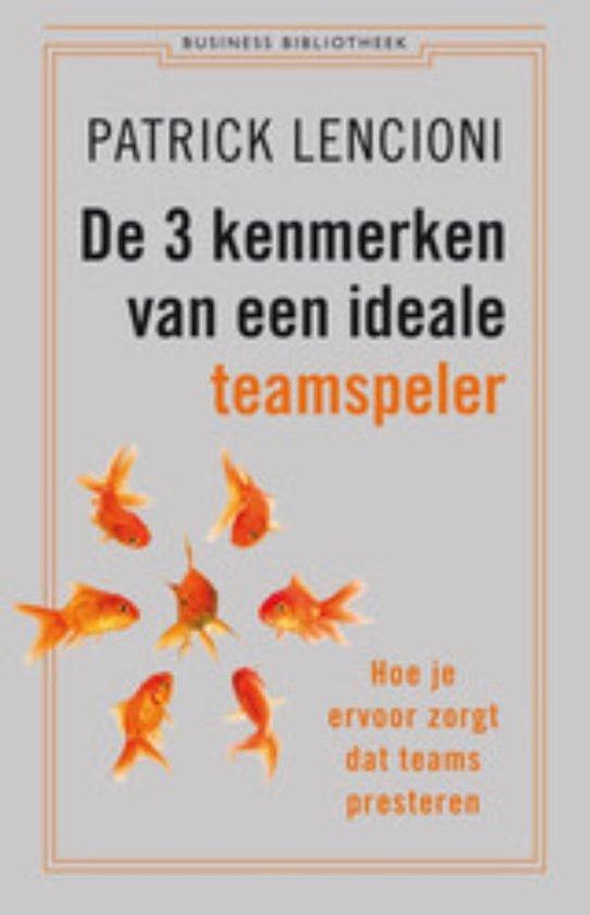 Business Bibliotheek De 3 kenmerken van een ideale teamspeler