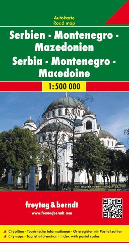FB Servië • Montenegro • Macedonië
