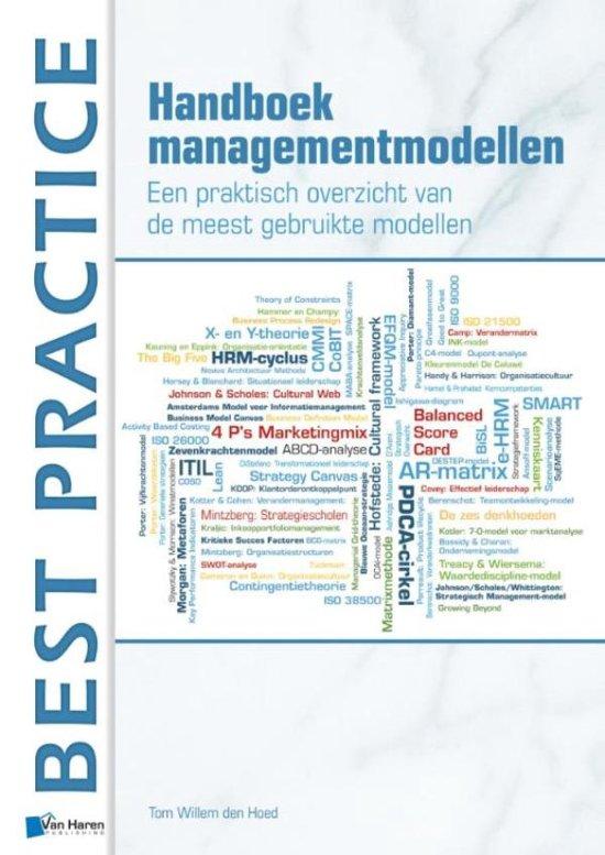Bolcom Handboek Managementmodellen Een Praktisch Overzicht Van
