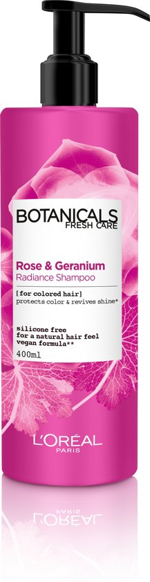L'Oréal Paris Botanicals Geranium Radiance Remedy - 400ml - Shampoo