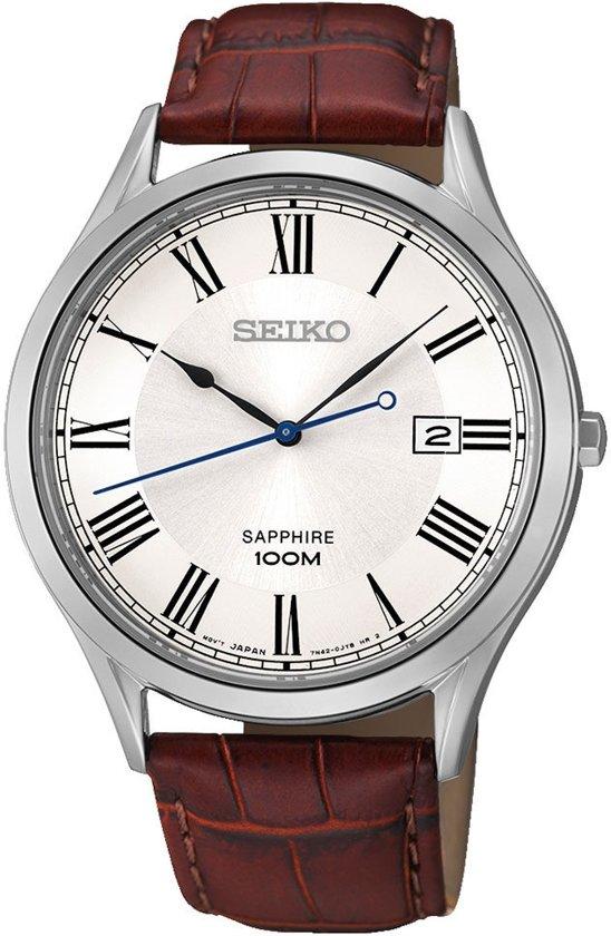 Seiko SGEG97P1 Horloge Bruin Ø 40 mm