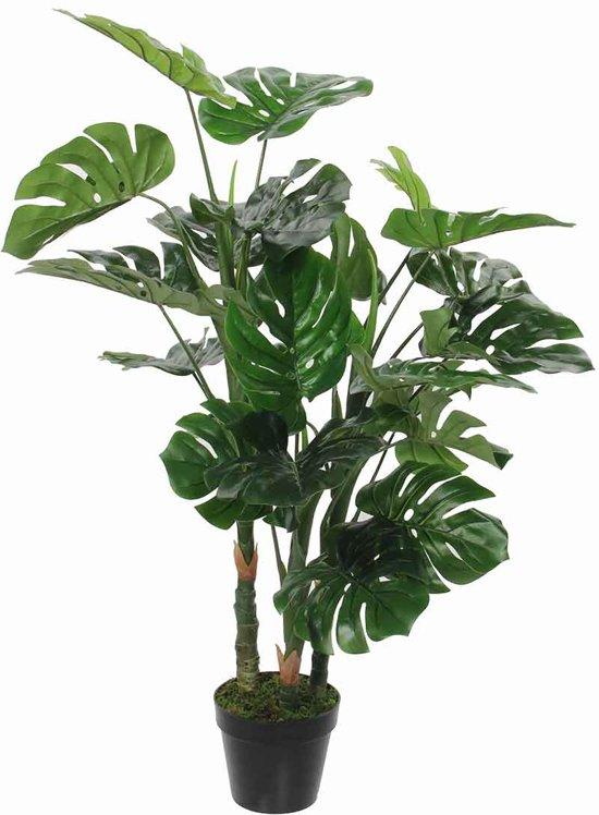 Mica kunstplant Monstera 100 x 75 cm