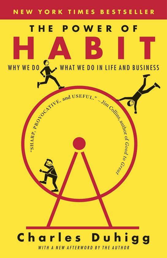 Boek cover Power of Habit van Charles Duhigg (Onbekend)