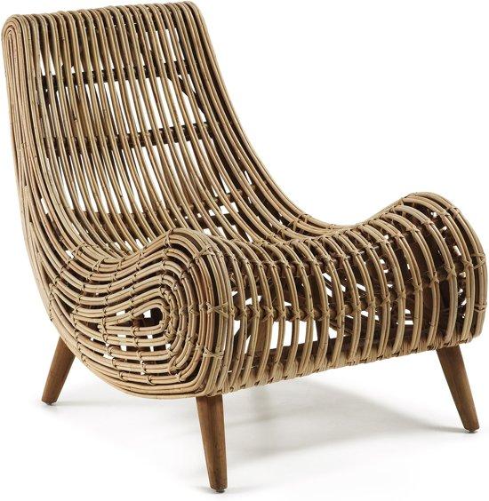 Kave Home - Tika - Relaxstoel - Rotan