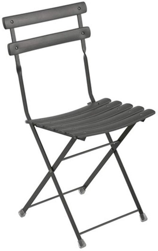 Brilliant Bol Com Emu Arc En Ciel Folding Chair Tuinstoel Antraciet Squirreltailoven Fun Painted Chair Ideas Images Squirreltailovenorg