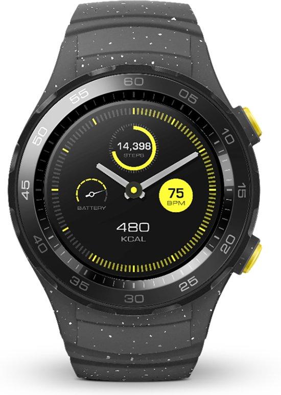 Huawei Watch 2 Sport - Smartwatch - Grijs