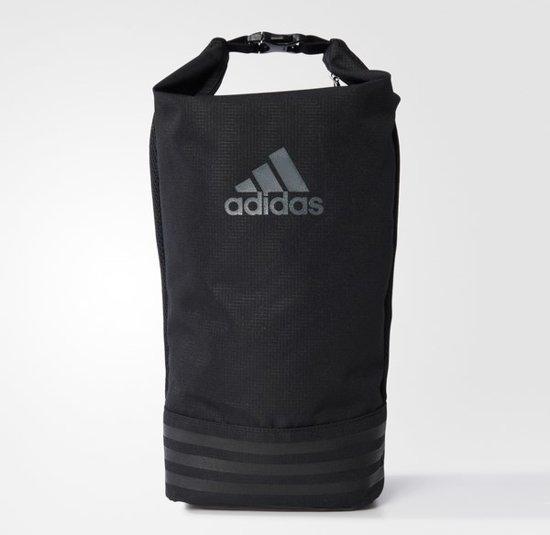 d4e5c70b652 bol.com | adidas 3-Stripes Shoe Bag - Sporttas - Unisex - NS - Black
