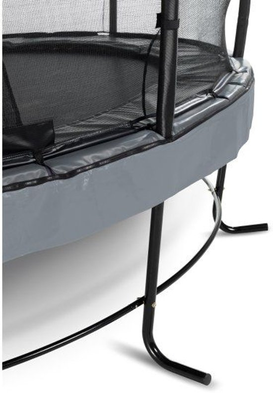 EXIT Elegant Premium trampoline ø305cm met veiligheidsnet Economy - grijs