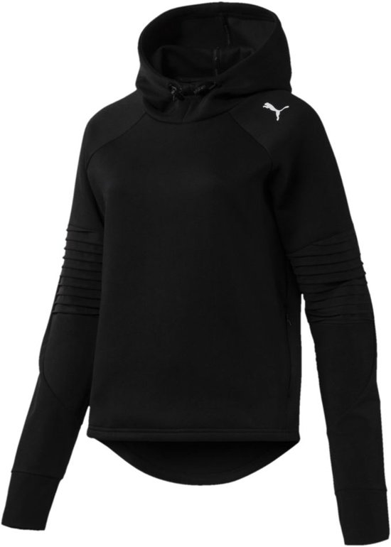 dacdce1c36a bol.com   PUMA Evostripe Hoody Sweater Dames - Puma Black