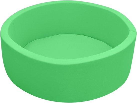 LittleTom Baby bal bad 90x30 zachte bal bad kinderen ballen zwembad groen ballen zwembad