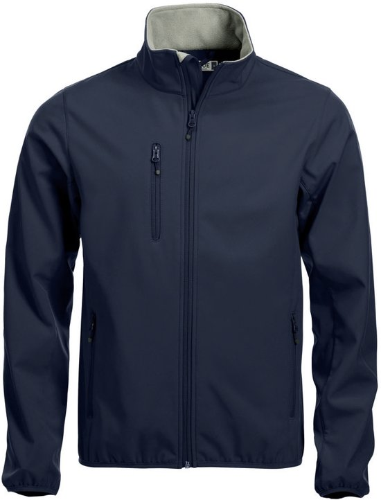 Clique Basic Softshell - Jacket - Heren - Maat XL