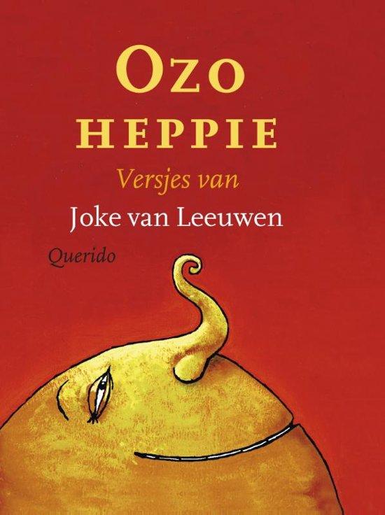 Boek cover Ozo heppie van Joke van Leeuwen (Paperback)