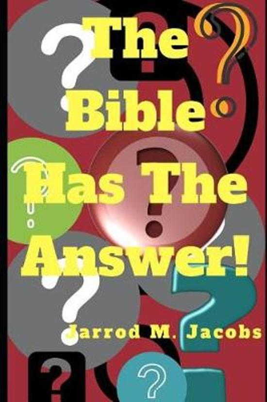The Bible Has the Answer!