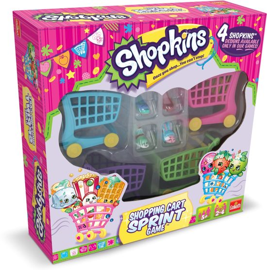 Shopkins Shopping Cart Sprint Game