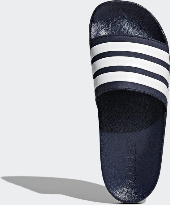 Adidas - Cloudfoam Adilette - Sportieve slippers - Heren - Maat 40,5 -  Blauw - Collegiate Navy