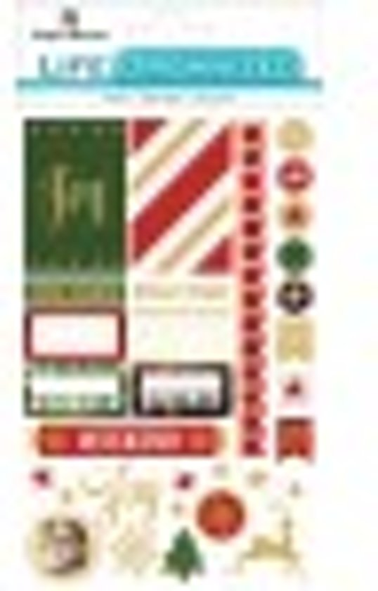 Paper House Life Organized planner stickers Christmas Planner