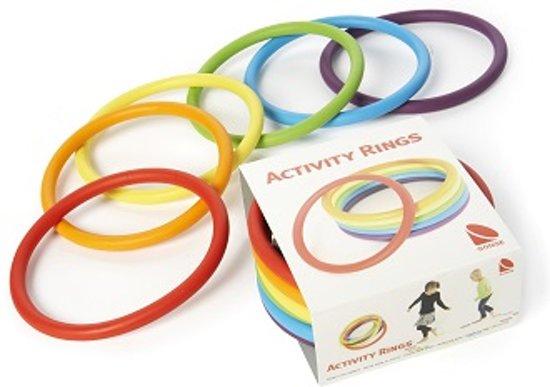 Afbeelding van het spel Activity Rings Set van 6 in verschillende kleuren