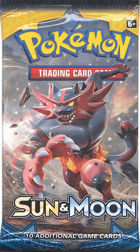 Afbeelding van het spel Pokemon Kaarten TCG Sun & Moon booster pack