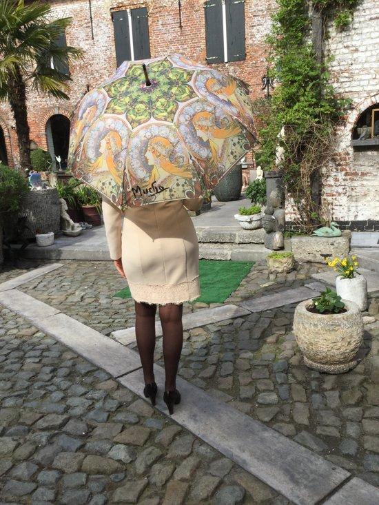 "Paraplu Alphonse Mucha ""Zodiac"""