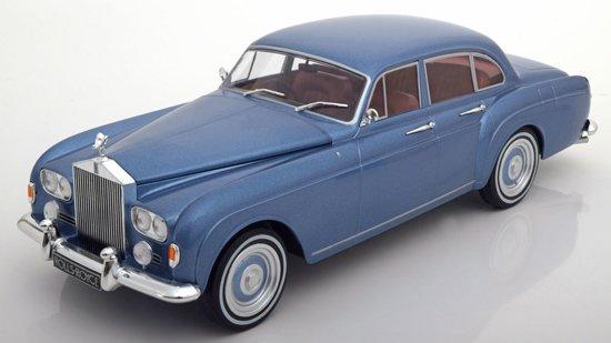 Rolls-Royce Silver Cloud III Flying Spur RHD H.J. Mulliner 1-18 Blauw Metallic MCG Models