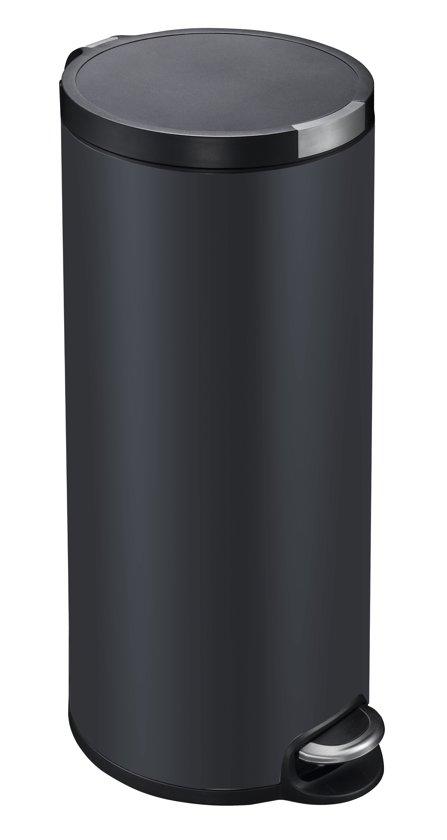 Eko Rejoice Pedaalemmer 30 30 Liter.Bol Com Eko Prullenbak 30 L Mat Zwart