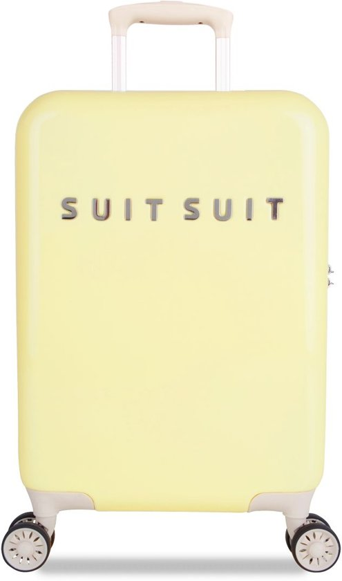 SUITSUIT Fabulous Fifties Handbagagekoffer 55 cm - Mango Cream