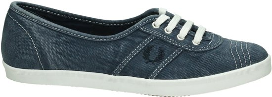 Fred Perry - B 1146 W - Slip-on sneakers - Dames - Maat 37 - Blauw;Blauwe - 608 -Navy