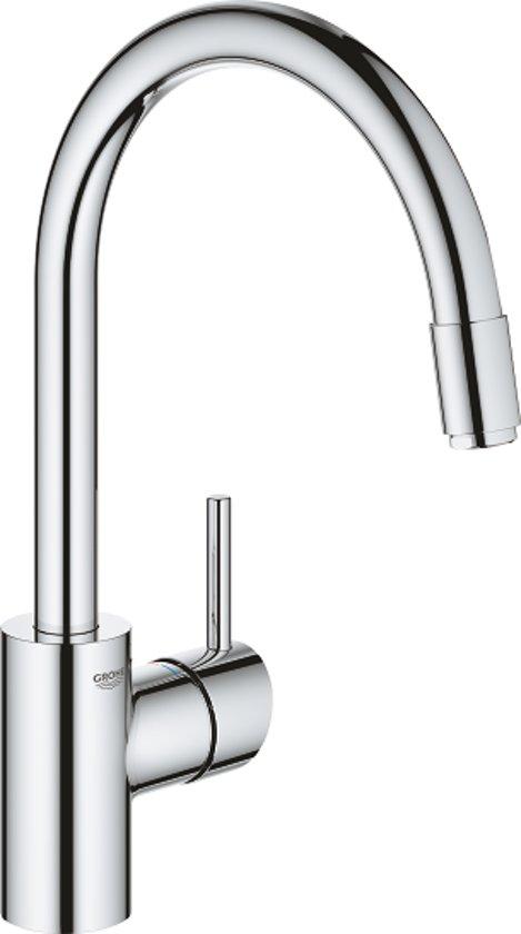GROHE Concetto keukenkraan - Uittrekbare handdouche - Chroom - Lood- en nikkelvrij drinkwater