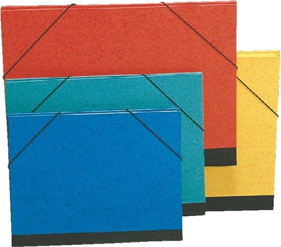 Esselte Tekenmap karton met elastiek - rood