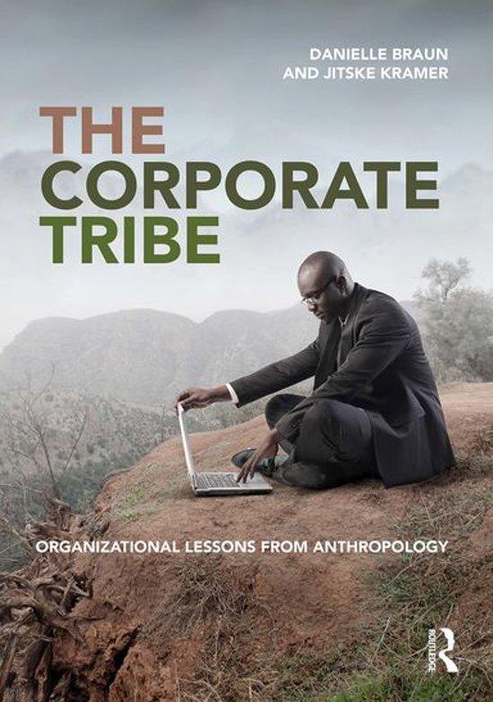 Boek cover The Corporate Tribe van Danielle Braun (Onbekend)